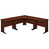 48W x 48D C Leg Corner Desk with (2) 36W x 24D Desks