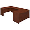 60W x 43D Left Handed Bow Front U Shaped Desk