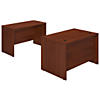 48W x 30D Desk Shell with Credenza