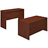 60W x 30D Desk with Standing Height Credenza