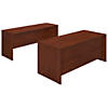 72W x 30D Desk Shell with Credenza