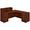 42W x 42D Corner Desk with Returns and Storage