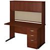 60W x 30D C Leg Desk with Storage