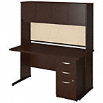 60W x 30D C Leg Desk with Storage