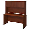 60W x 24D Desk with Hutch