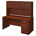 66W x 30D Desk with Storage