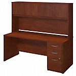 72W x 30D Desk with Storage