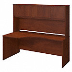 72W x 36D Left Corner Desk with Hutch
