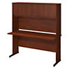60W x 24D C Leg Desk with Hutch