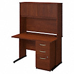 48W x 30D C Leg Desk with Storage