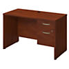 48W x 24D Desk with 3/4 Pedestal