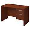 48W x 24D Desk with 3/4 Pedestal
