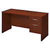 60W x 24D Desk with 3/4 Pedestal