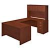 60W x 30D U Shaped Desk with Storage