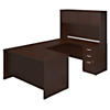 60W x 30D U Shaped Desk with Storage