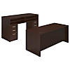 72W x 30D Desk with Standing Height Desk and Storage