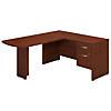 60W x 24D L Shaped Desk with 3/4 Pedestal
