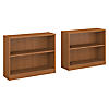 2 Shelf Bookcase Set of 2