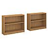 2 Shelf Bookcase Set of 2