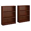 3 Shelf Bookcase Set of 2