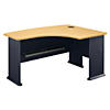 60W x 44D Right Hand L-Bow Desk