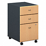 3 Drawer Mobile Pedestal - Assembled
