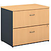 36W 2-Drawer Lateral File - Assembled
