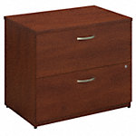 36W 2 Drawer Lateral File Cabinet - Assembled