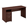60W Computer Desk with Drawers