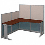 65W x 65D L Shaped Cubicle Workstation