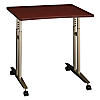 Adjustable Height Mobile Table