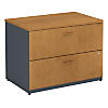 36W 2 Drawer Lateral File - Assembled