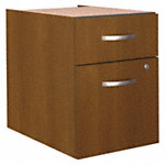 2 Drawer 3/4 Pedestal