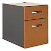 2 Drawer 3/4 Pedestal - Assembled