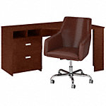 60W Reversible Corner Desk and Chair Set